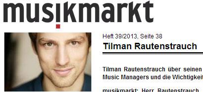 Tilman Rautenstrauch - Musikmarkt